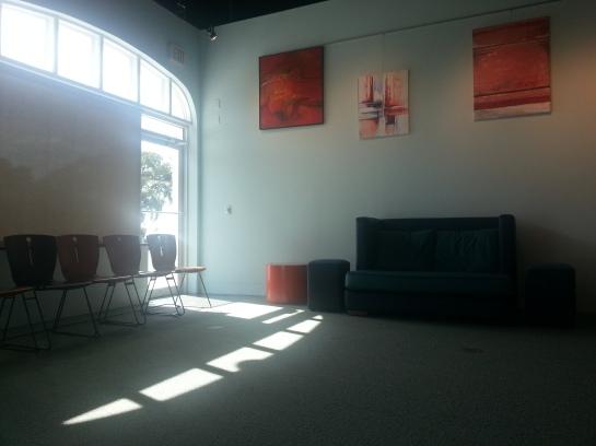 Doctor's office waiting room, Eau Gallie, Fla.