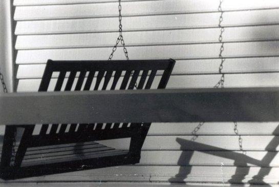 Porch series, 1982, Bell Buckle, Tenn. MTSU documentary photography class.
