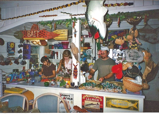 My mom's kitchen in Bell Buckle back in the day