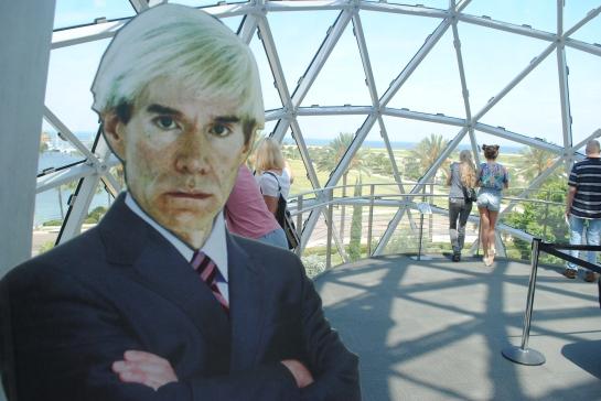 When Andy's not happy, nobody's happy. Dali Museum. St. Petersburg.