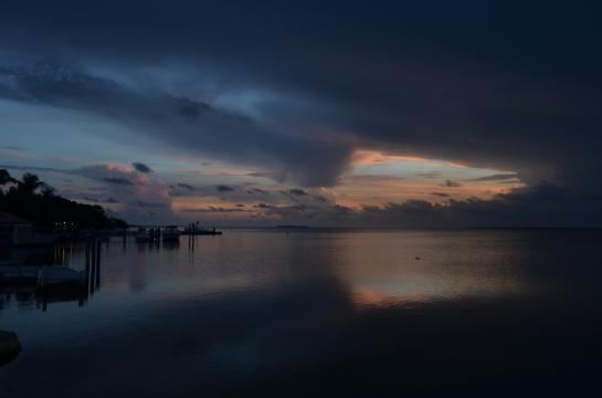 Dusk in Key Largo