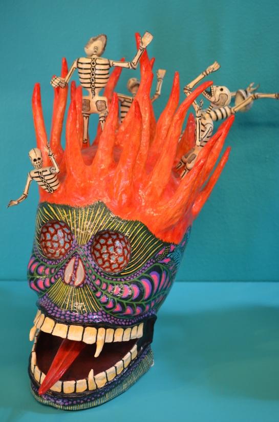 Papier mache exhibit, Joel Garcia