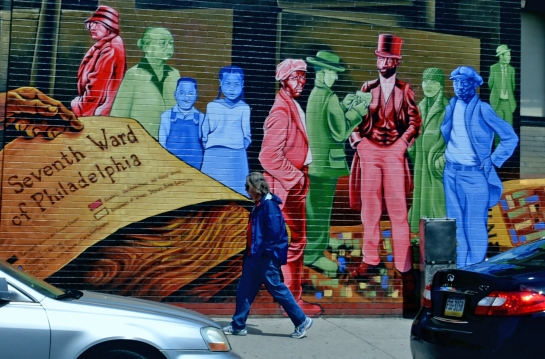 A walk among giants, South Street Philly murals
