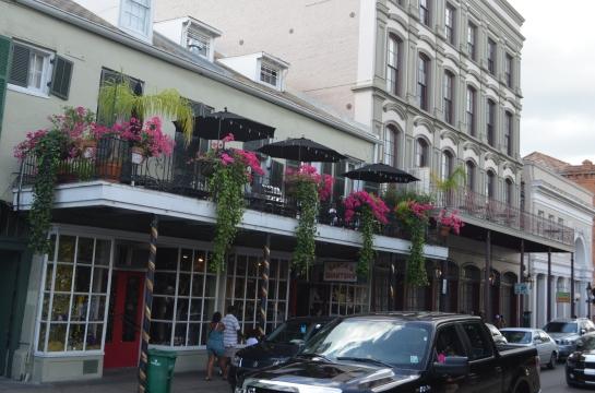 NOLA balconies
