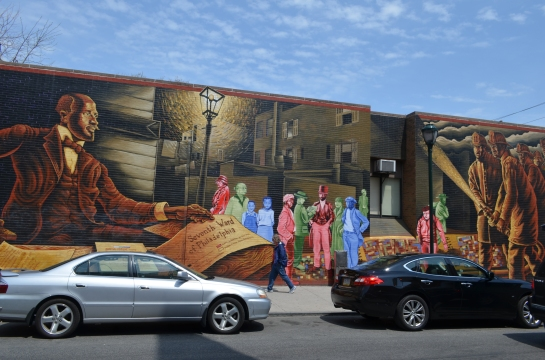 South Street Philly murals