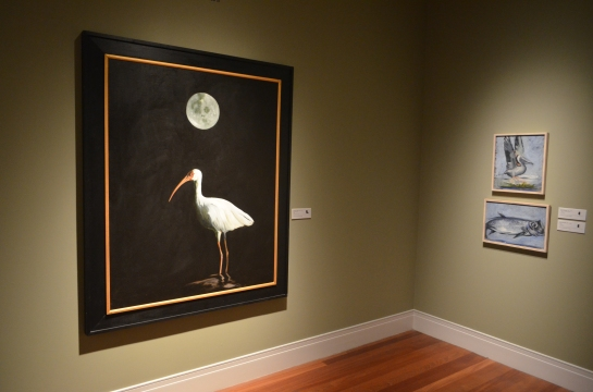 Space bird painting, Ogden Museum, New Orleans