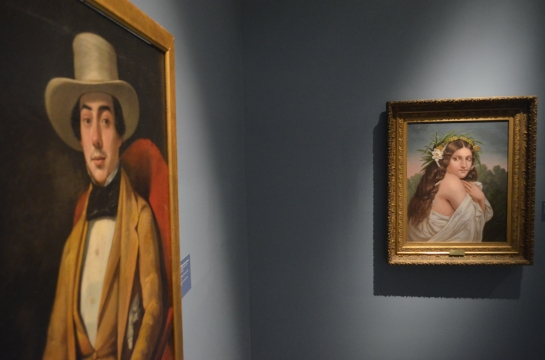 Paintings seem to react to each other at the New Orleans Museum of Art