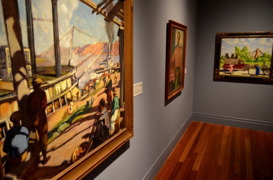 Historical paintings, Ogden Museum, NOLA